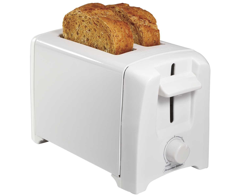 2-Slice Toaster (white)
