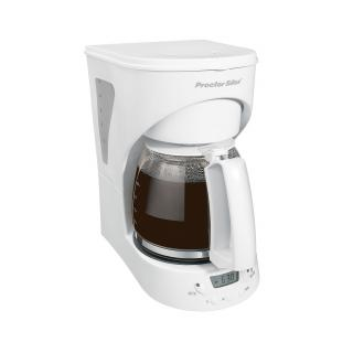 Programmable 12 Cup Coffee Maker (white)-43571Y