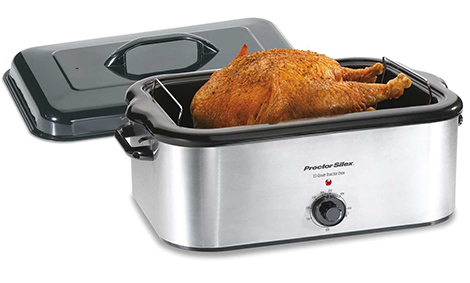 Stainless Steel 22 Quart Roaster Oven (32230A)