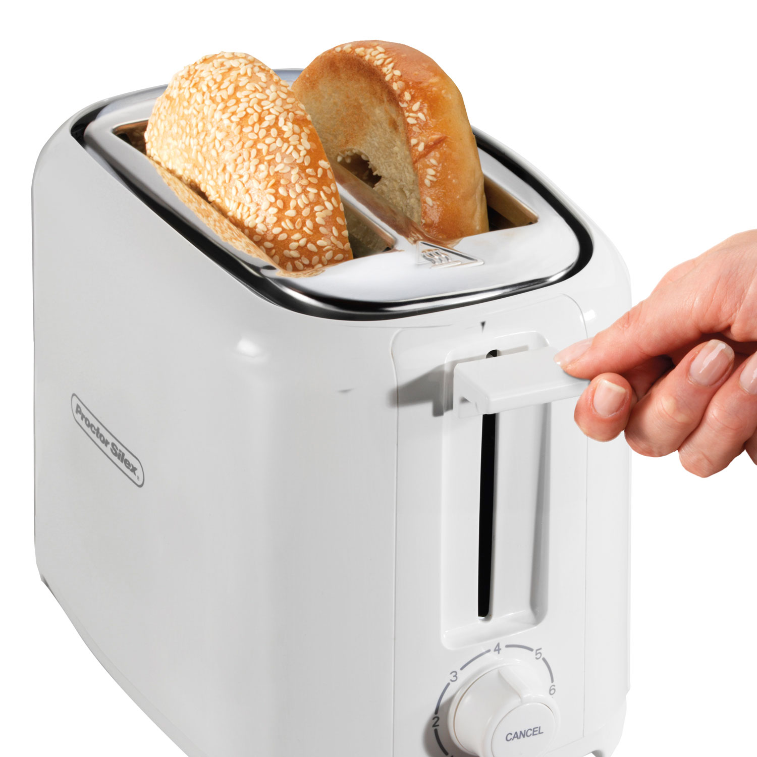 Durable Toaster 2-Slice (white)