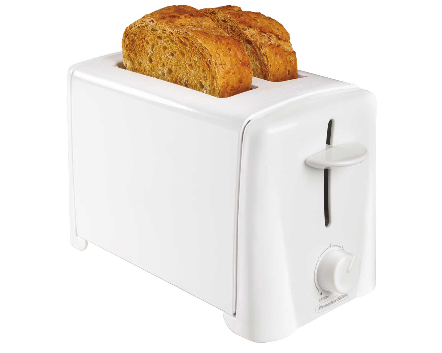 2-Slice White Toaster-22611 Small Size