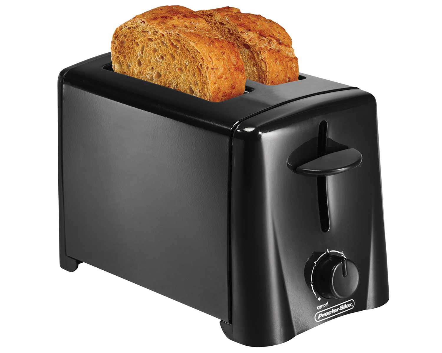 2-Slice Toaster (black)-22612 Small Size