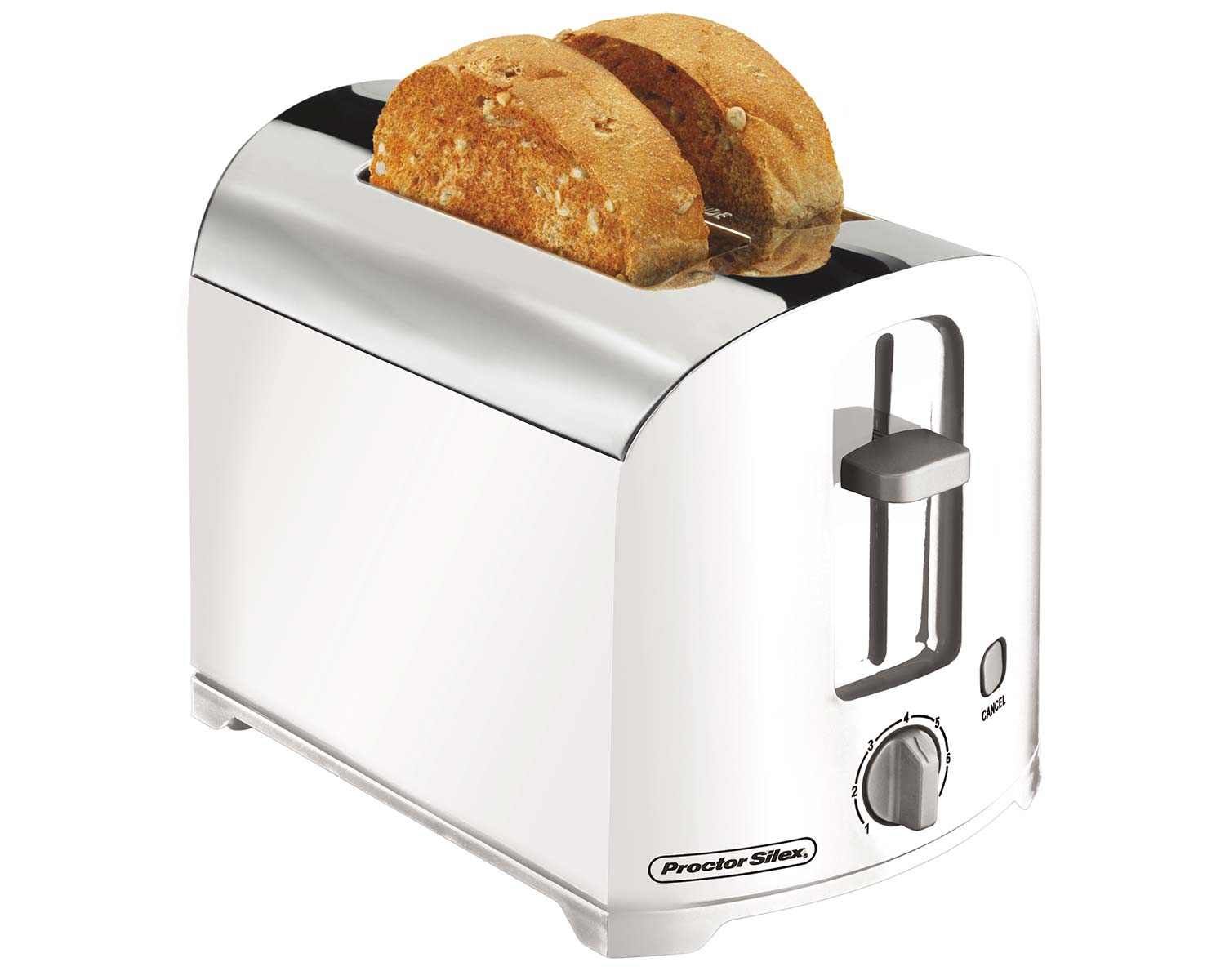 2 Slice Toaster (white)-22632 Small Size