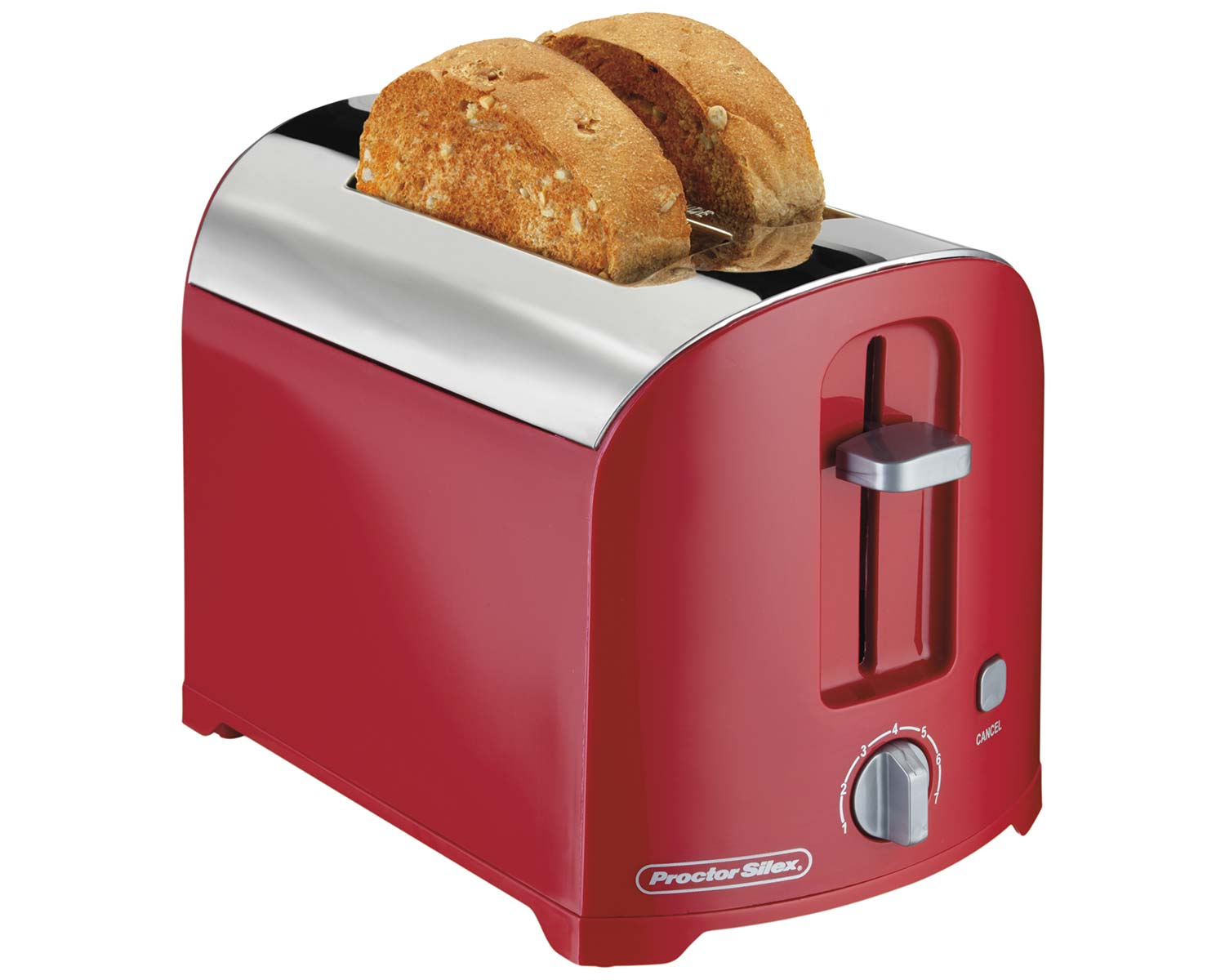 2 Slice Toaster (red)-22642