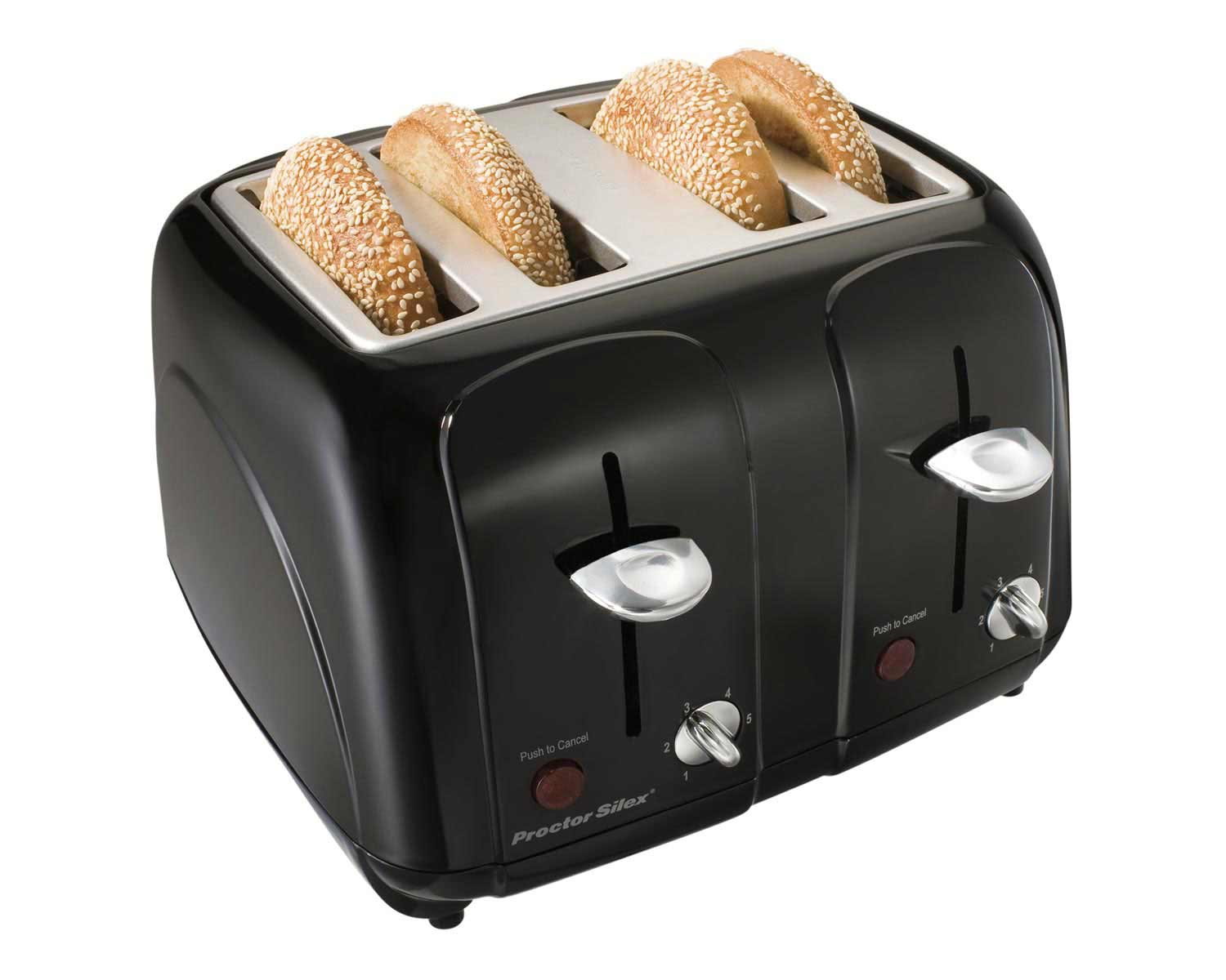 Cool-Touch 4 Slice Toaster (black)