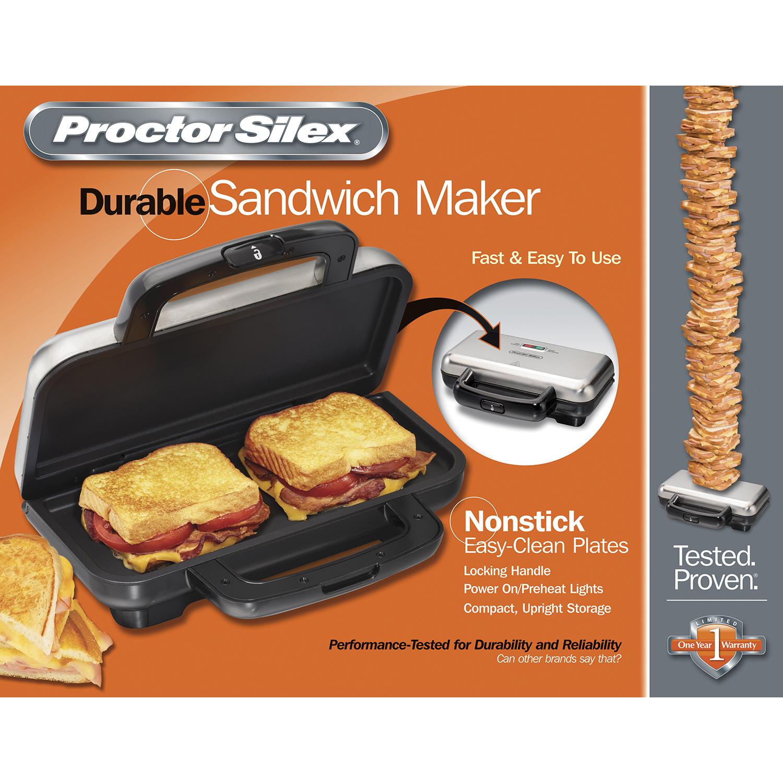Deluxe Hot Sandwich Maker Model 25415 Proctorsilex Com