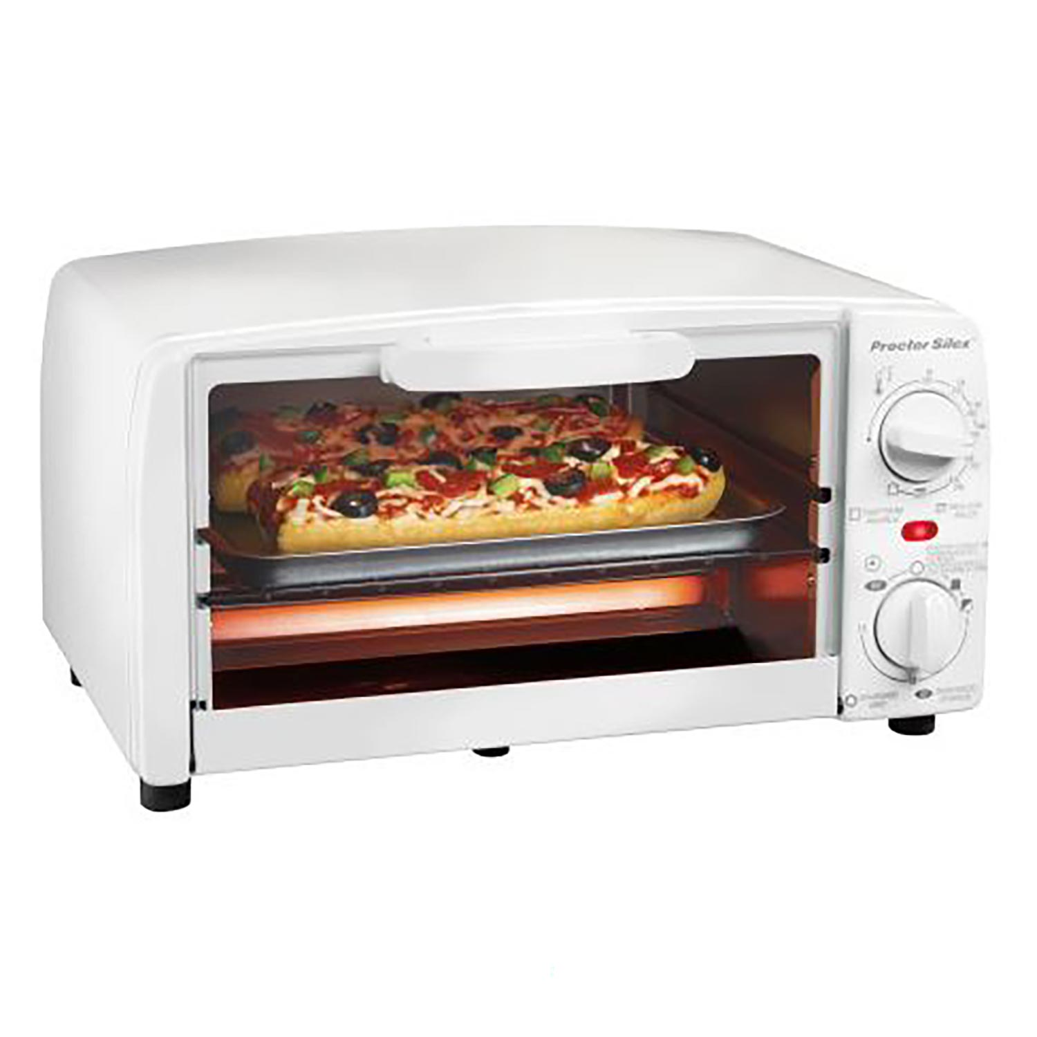 Toaster Oven Broiler (white)-31116R Small Size