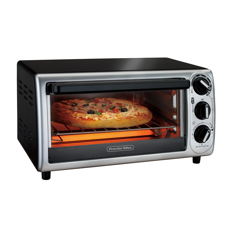 4 Slice Modern Toaster Oven 31122 Proctorsilex Com