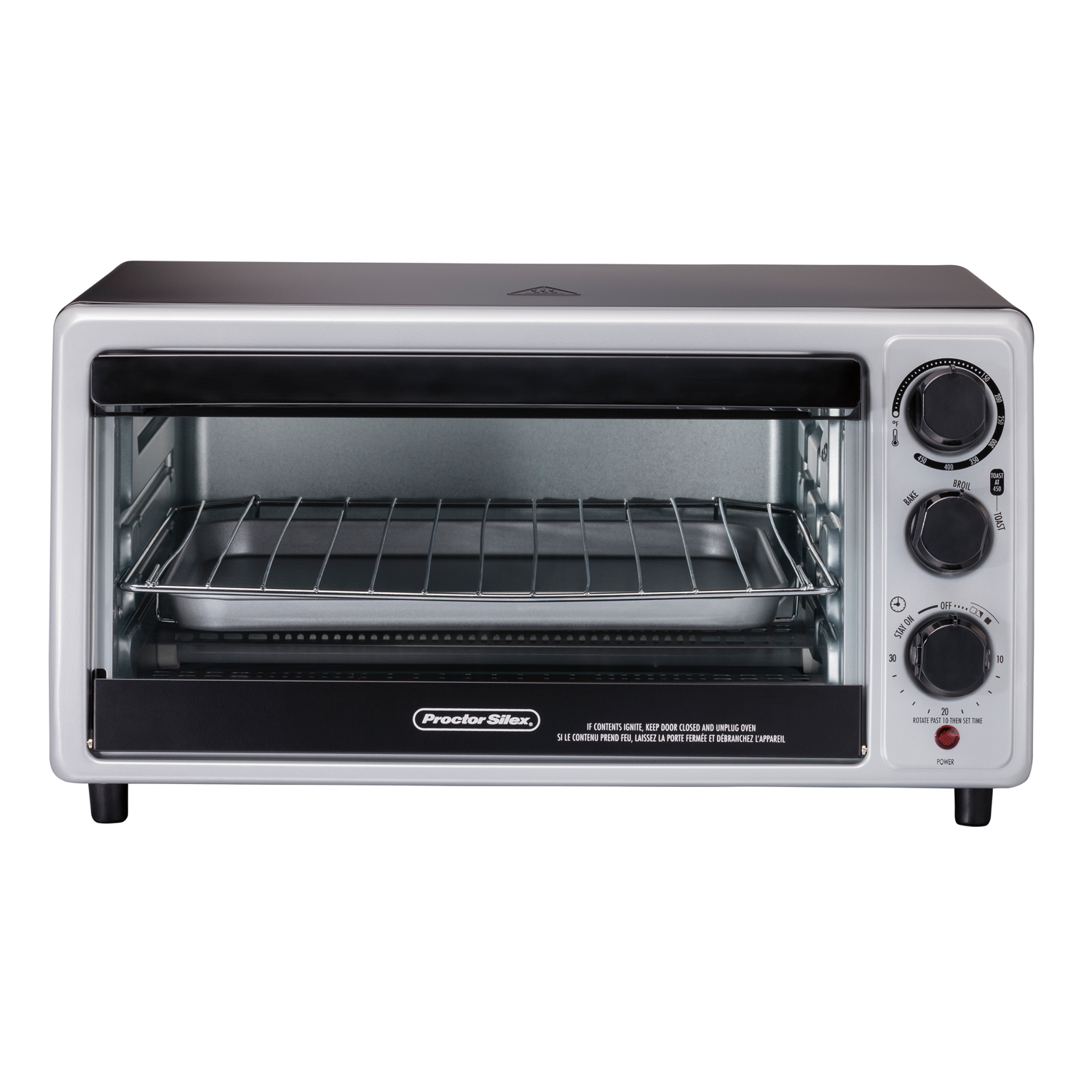6 Slice Toaster Oven-31124 Small Size