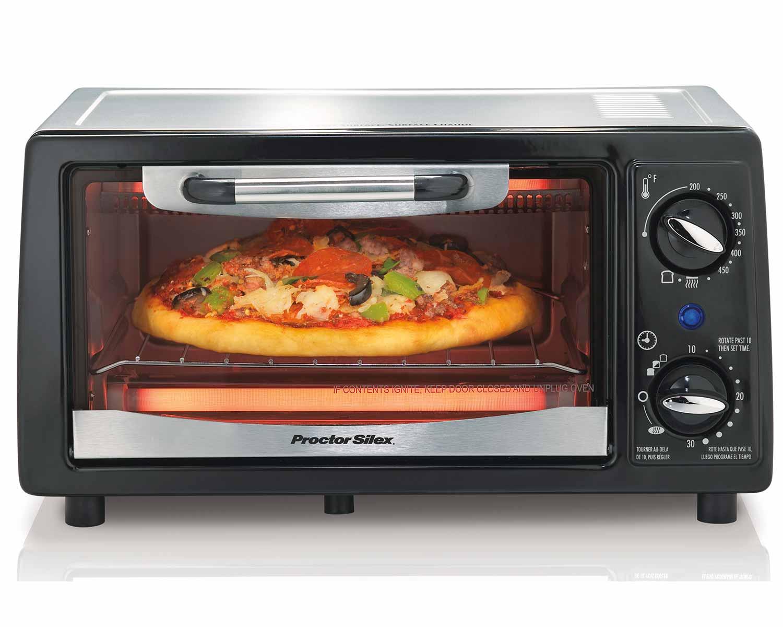 4 Slice Toaster Oven Model 31140a Proctorsilex Com