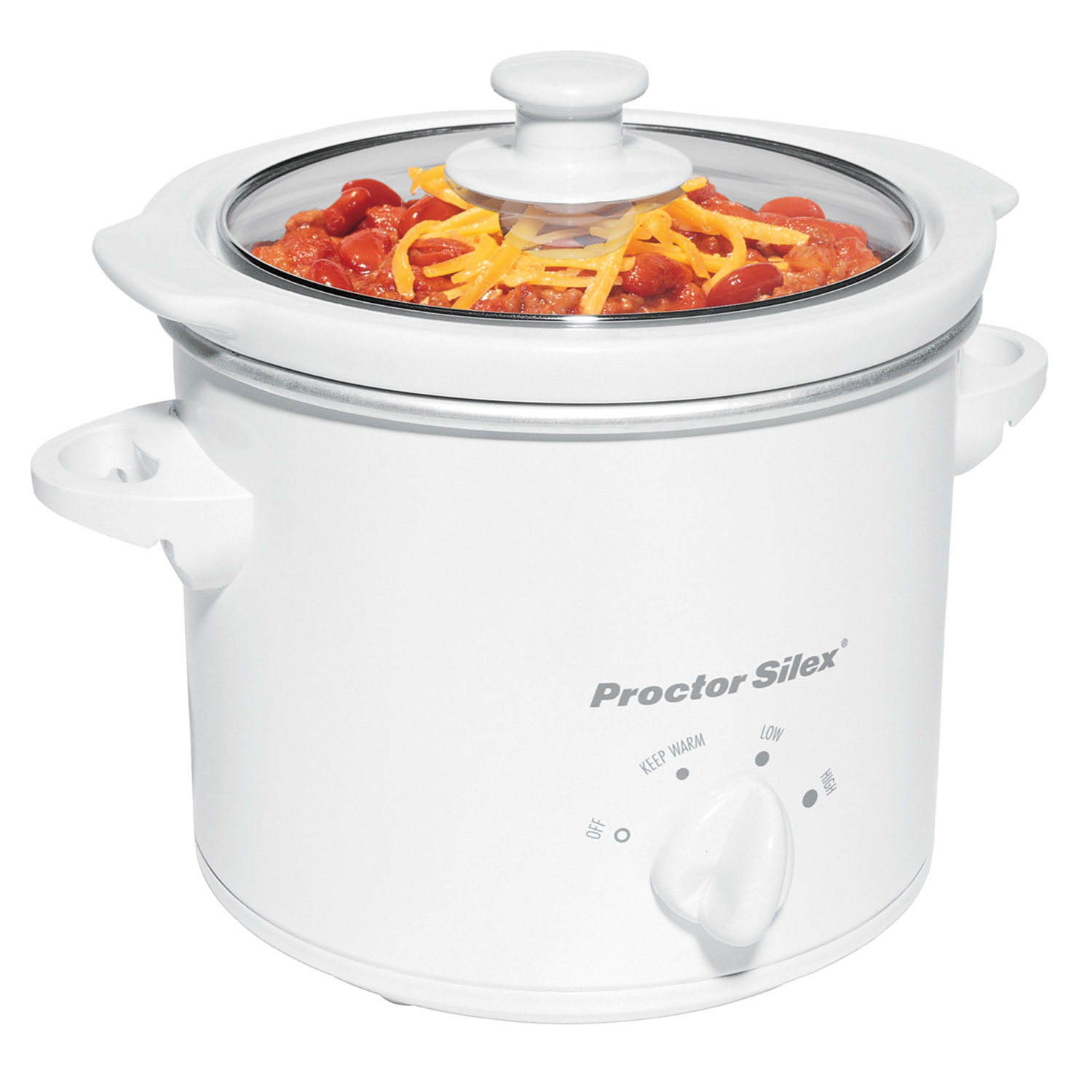 Round 1.5 Quart Slow Cooker-33015Y Small Size