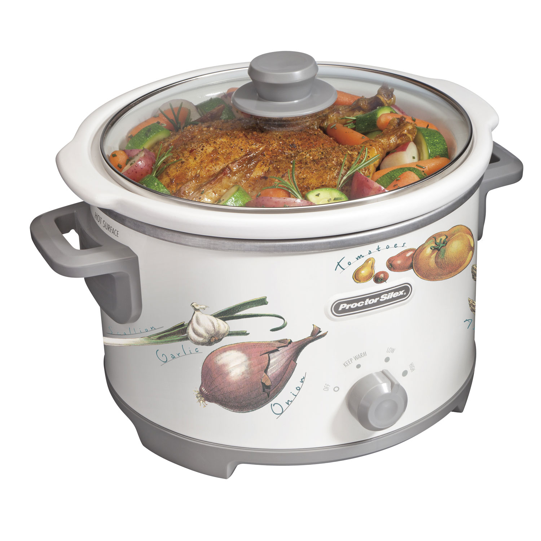 4 Quart Slow Cooker (round) - 33045