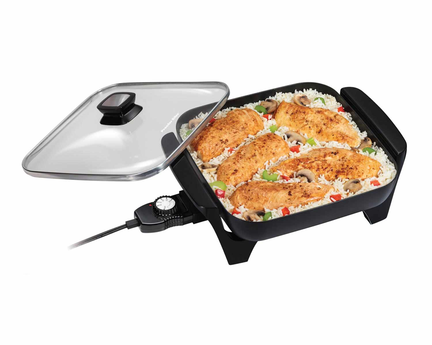 Electric Skillet-38526 Small Size