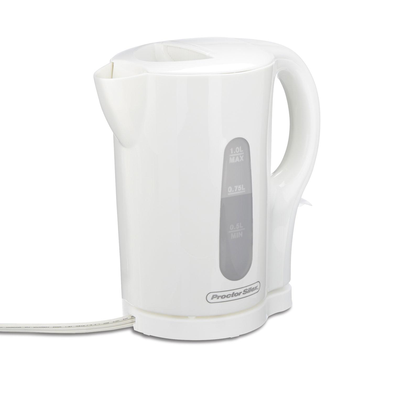 Cordless 1 Liter Kettle (white)-41005