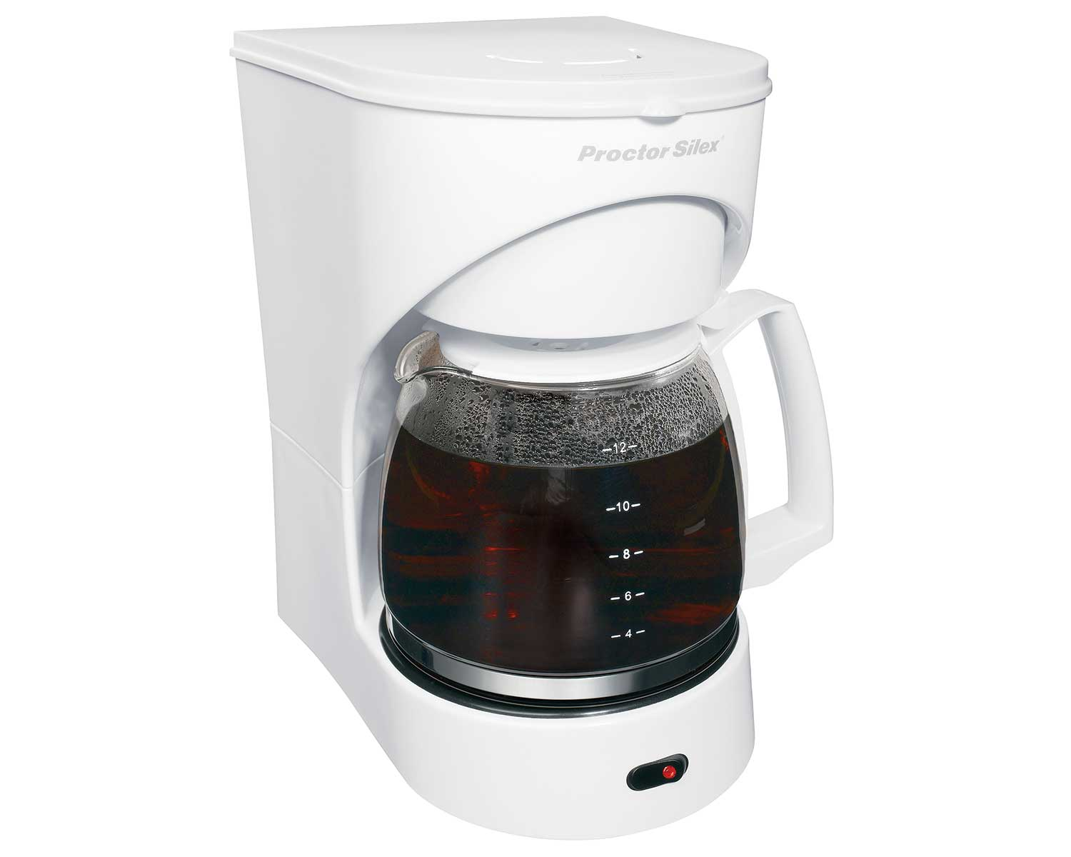 12 Cup Drip Coffee Maker (white)-43501Y Small Size