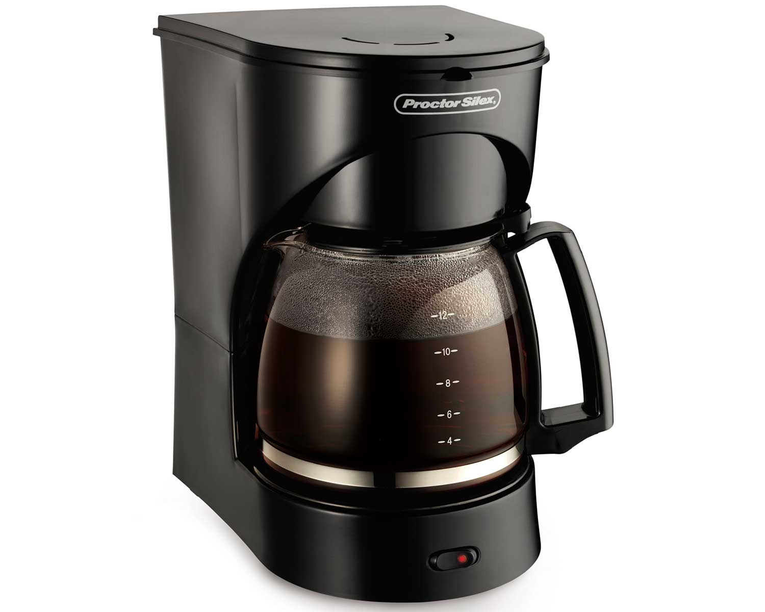 12 Cup Drip Coffee Maker (black)-43502