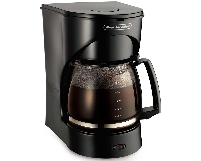 12 Cup Drip Coffee Maker (black)
