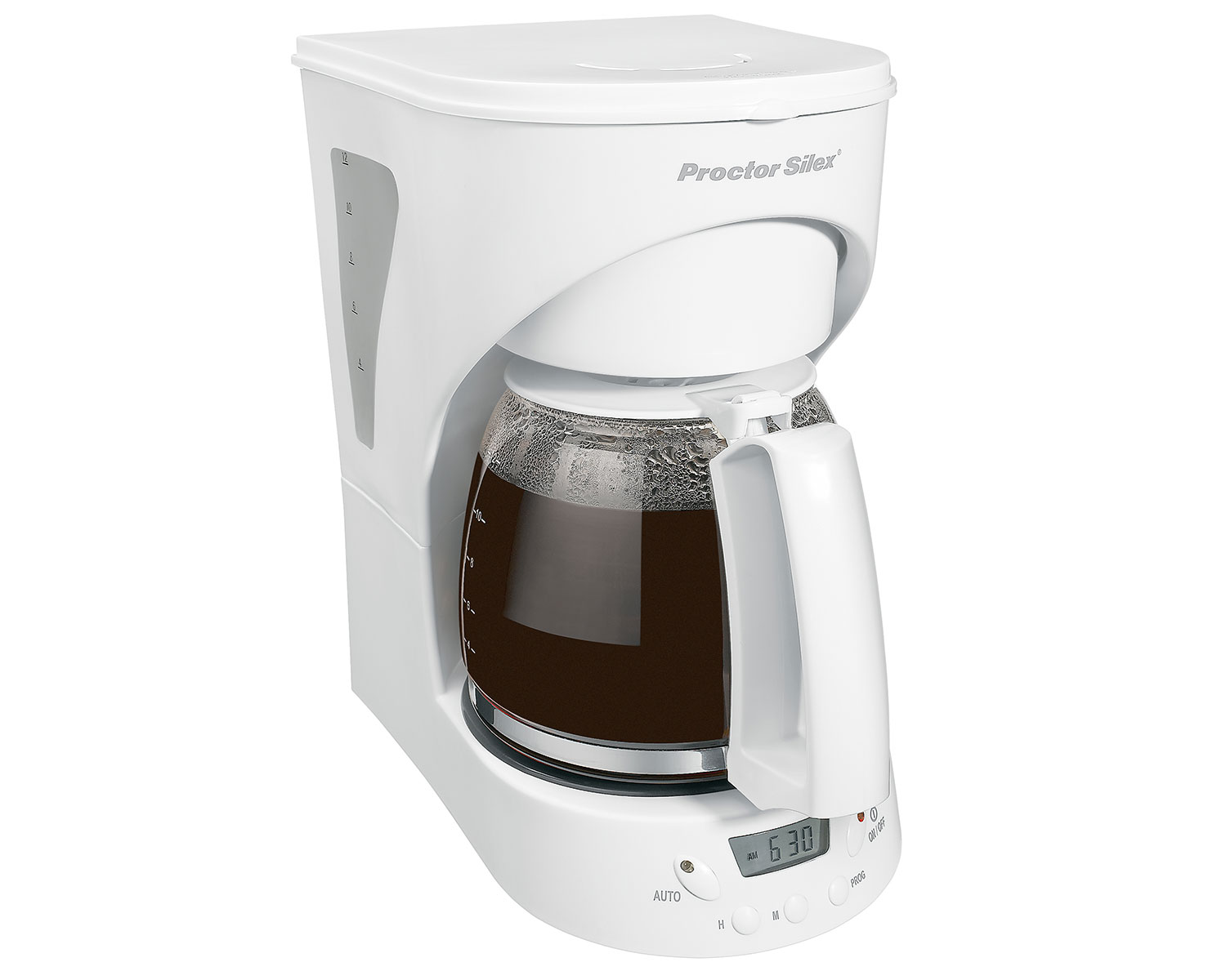 Programmable 12 Cup Coffee Maker (white)-43571Y Small Size