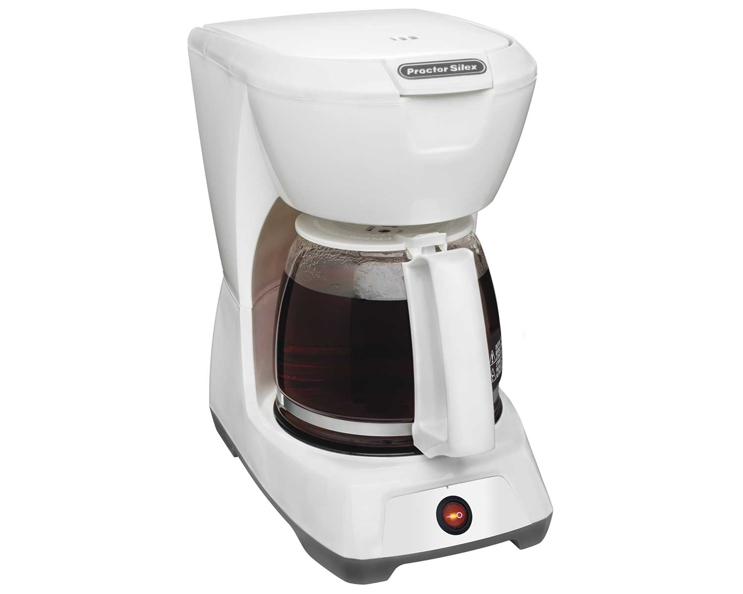 12 Cup Coffee Maker (white)