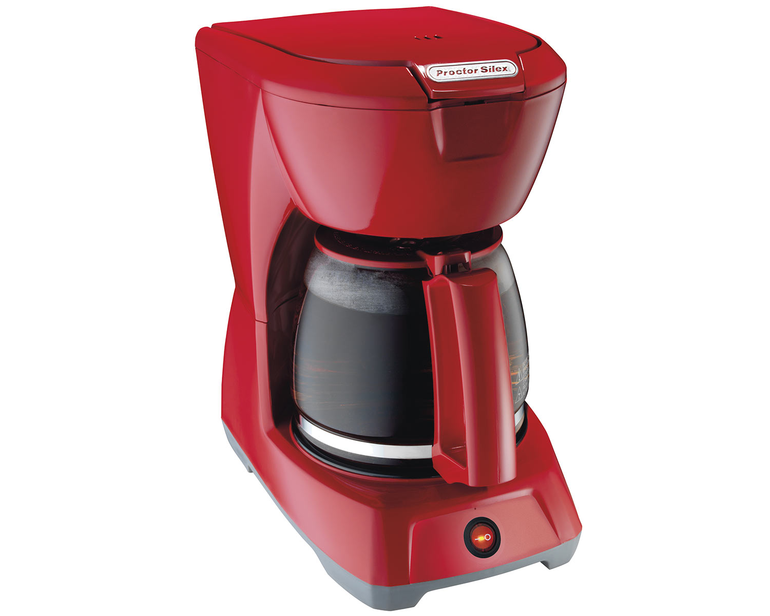 12 Cup Coffee Maker (red)-43603