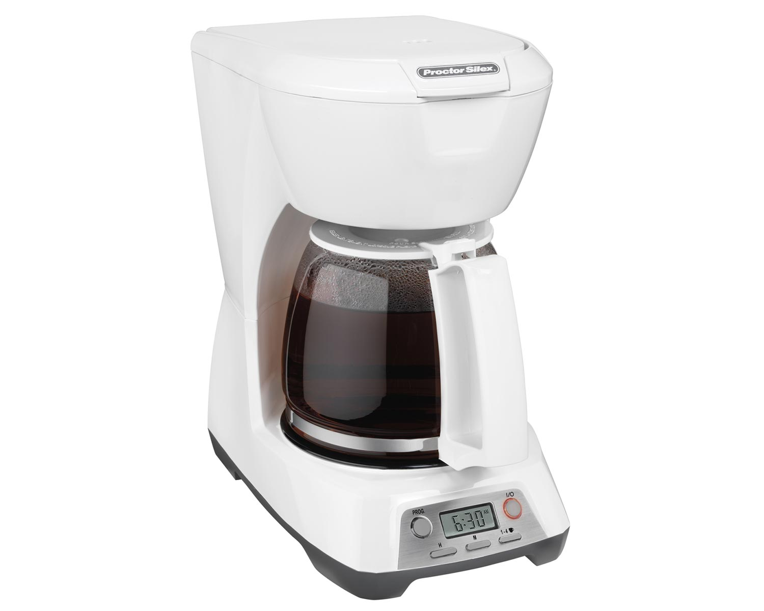 Programmable 12 Cup Coffee Maker (white)-43671 Small Size