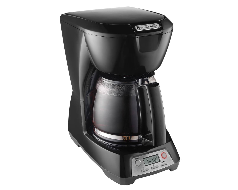 Programmable 12 Cup Coffee Maker Black Model 43672