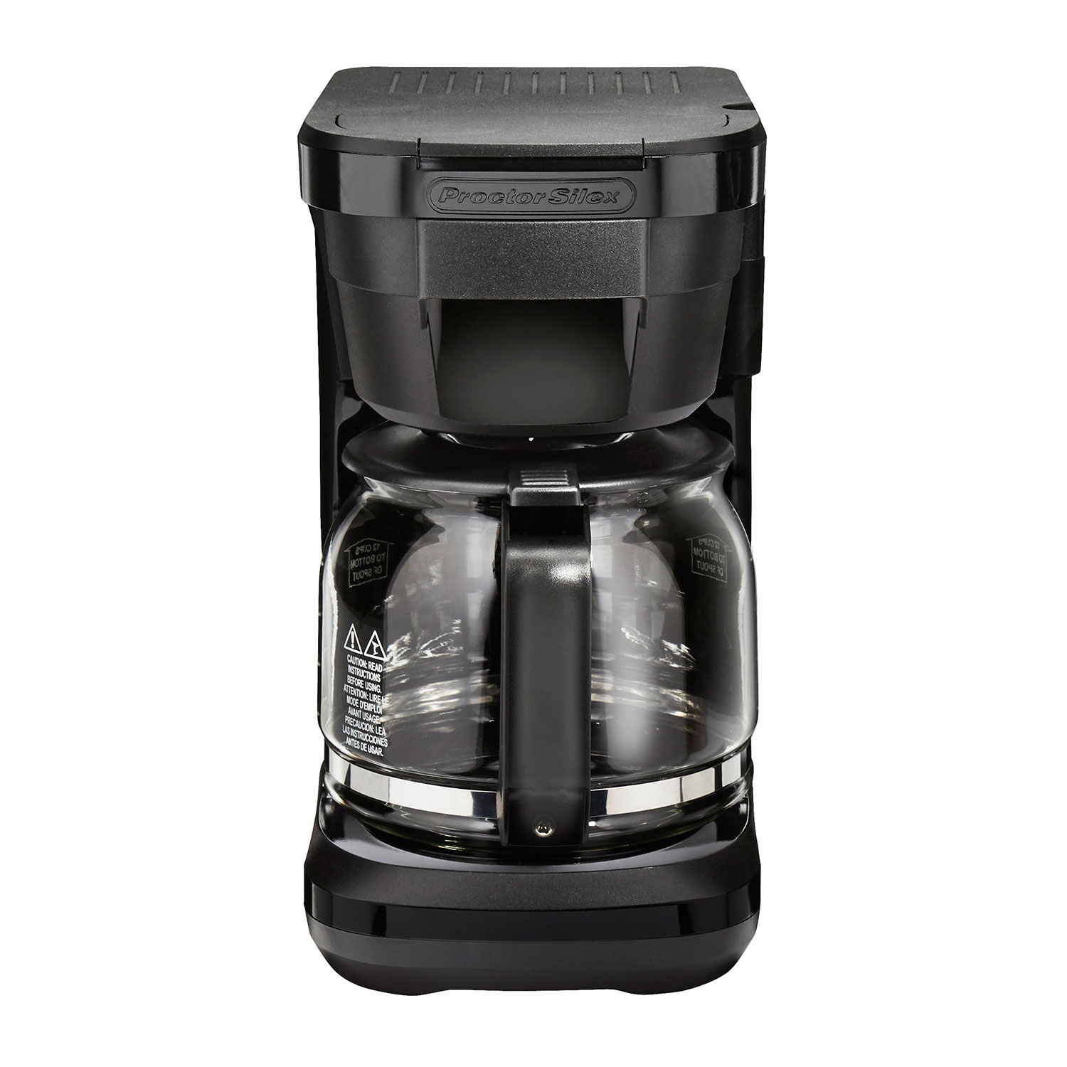 Compact Easy Fill 12 Cup Coffee Maker (43680) Small Size