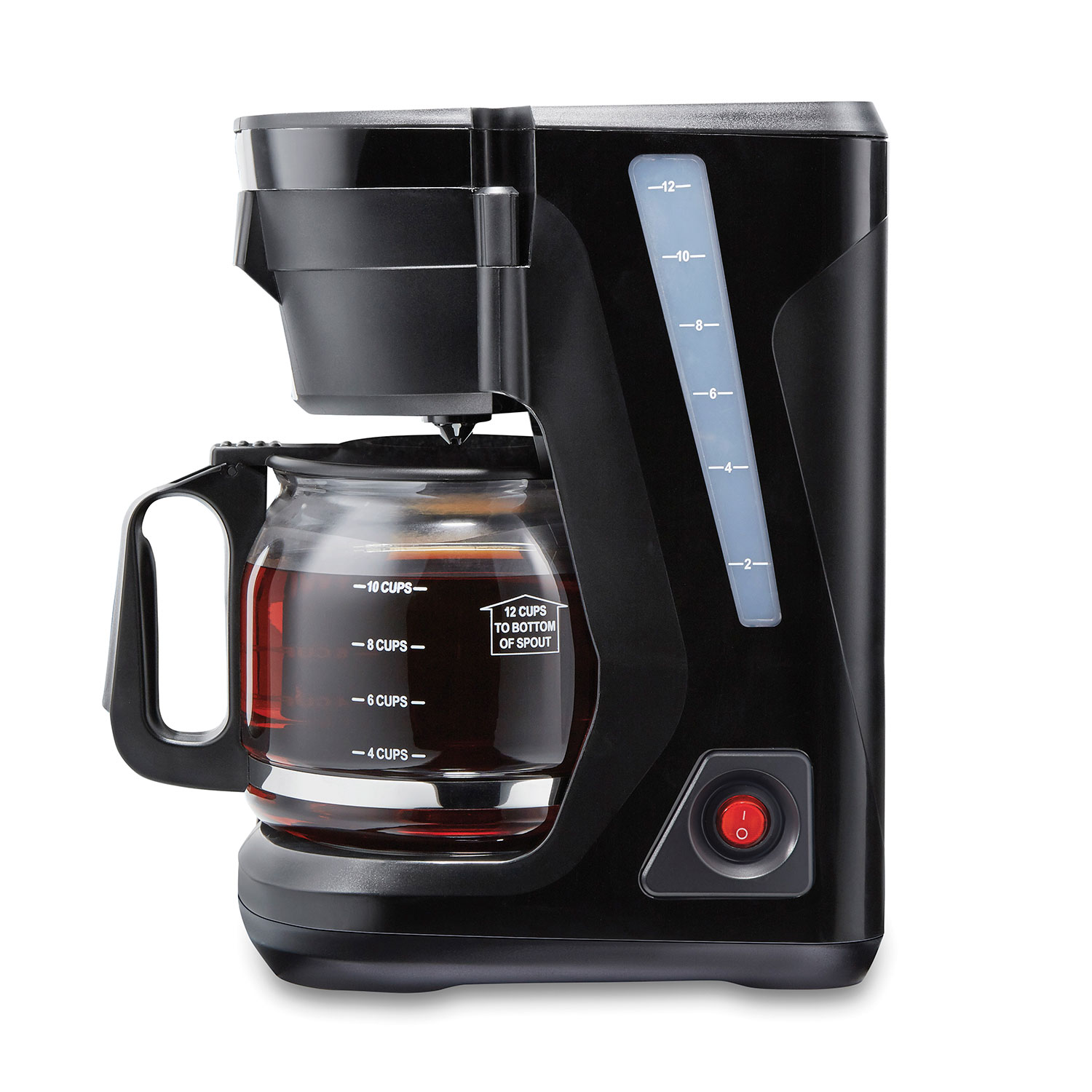 FrontFill™ Compact 12 Cup Coffee Maker (43680PS) Small Size