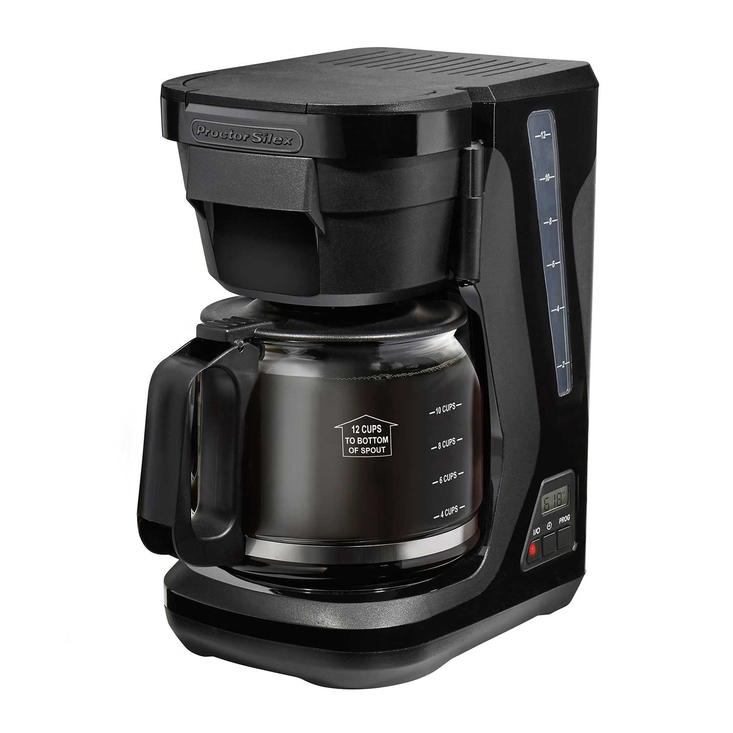 Compact Programmable Coffee Maker (black) (43685) Small Size
