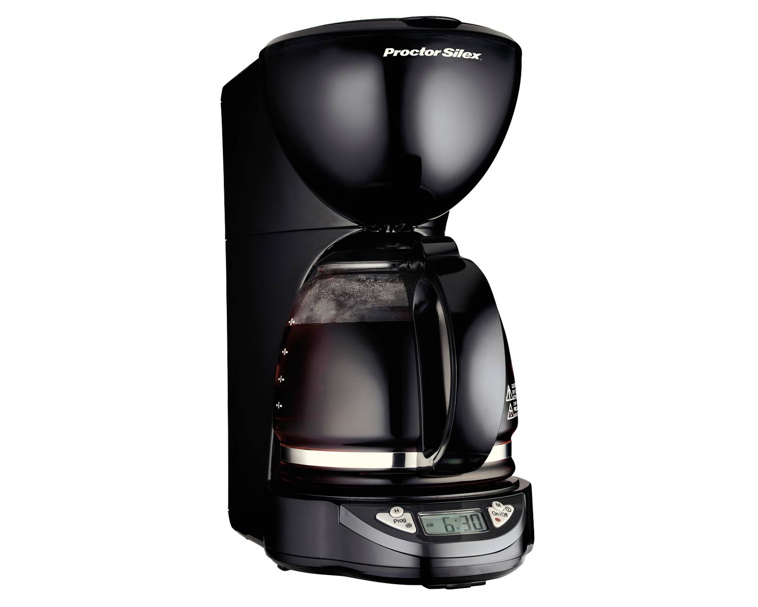12 Cup Compact Coffee Maker