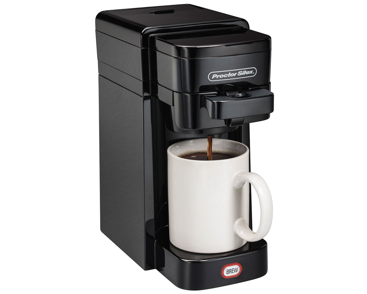 Single-Serve Coffee Maker (black)-49961 Small Size
