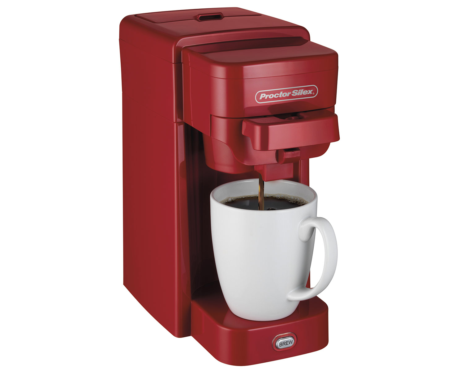 Single-Serve Coffee Maker (red)-49964