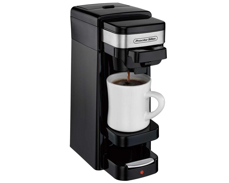 Single-Serve Coffee Maker (black) - 49969