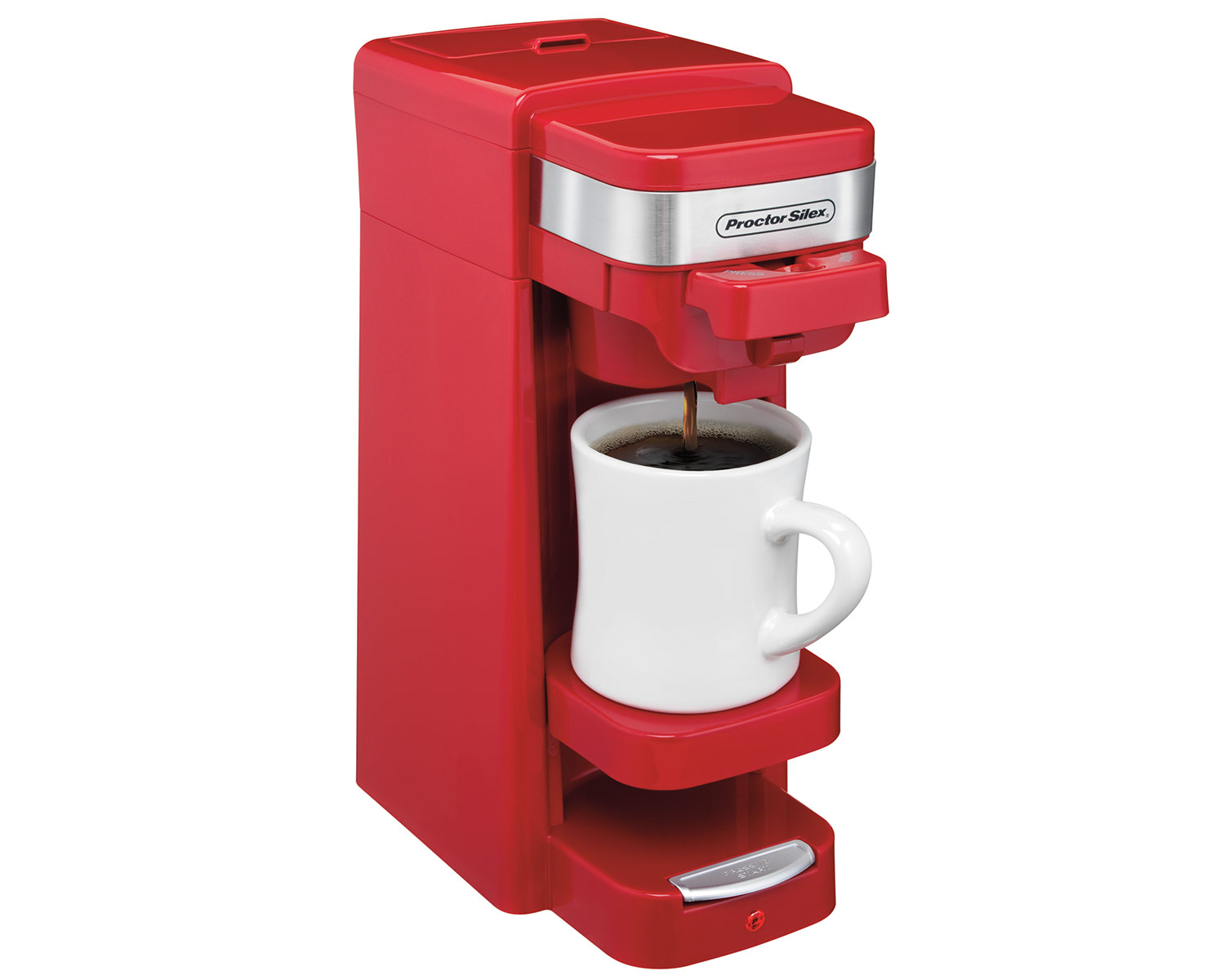 Single-Serve Coffee Maker (red)-49977