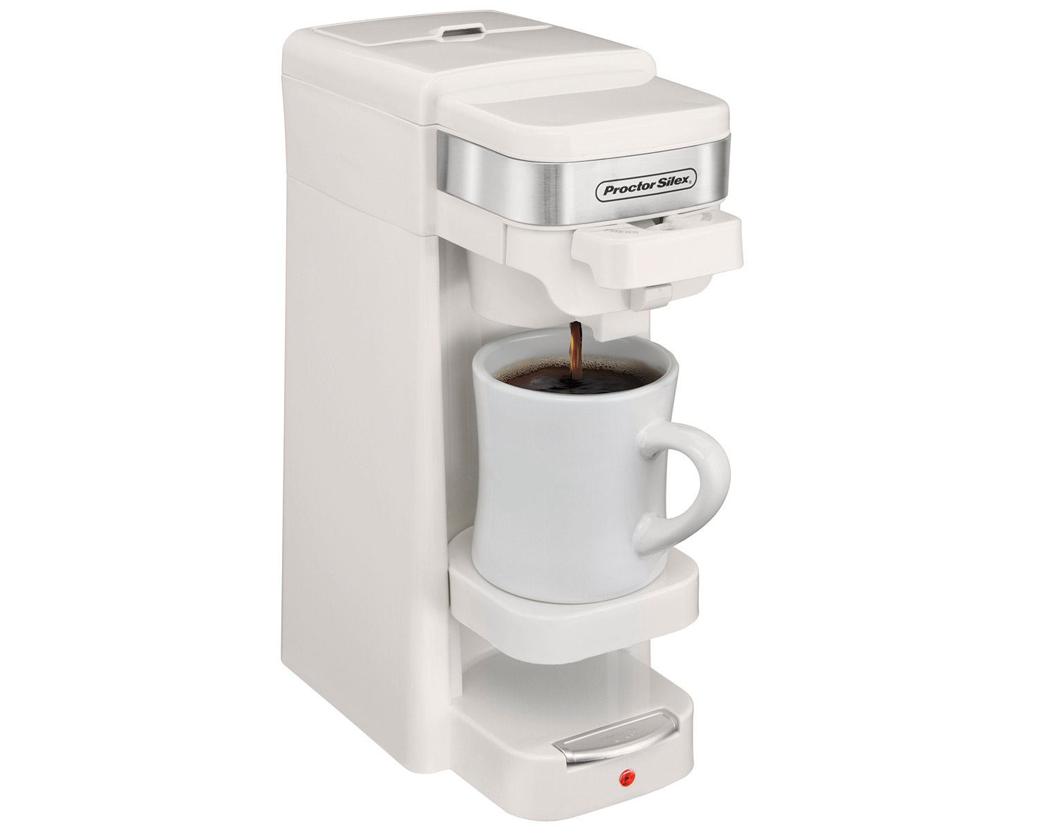 Single-Serve Coffee Maker (white)-49978