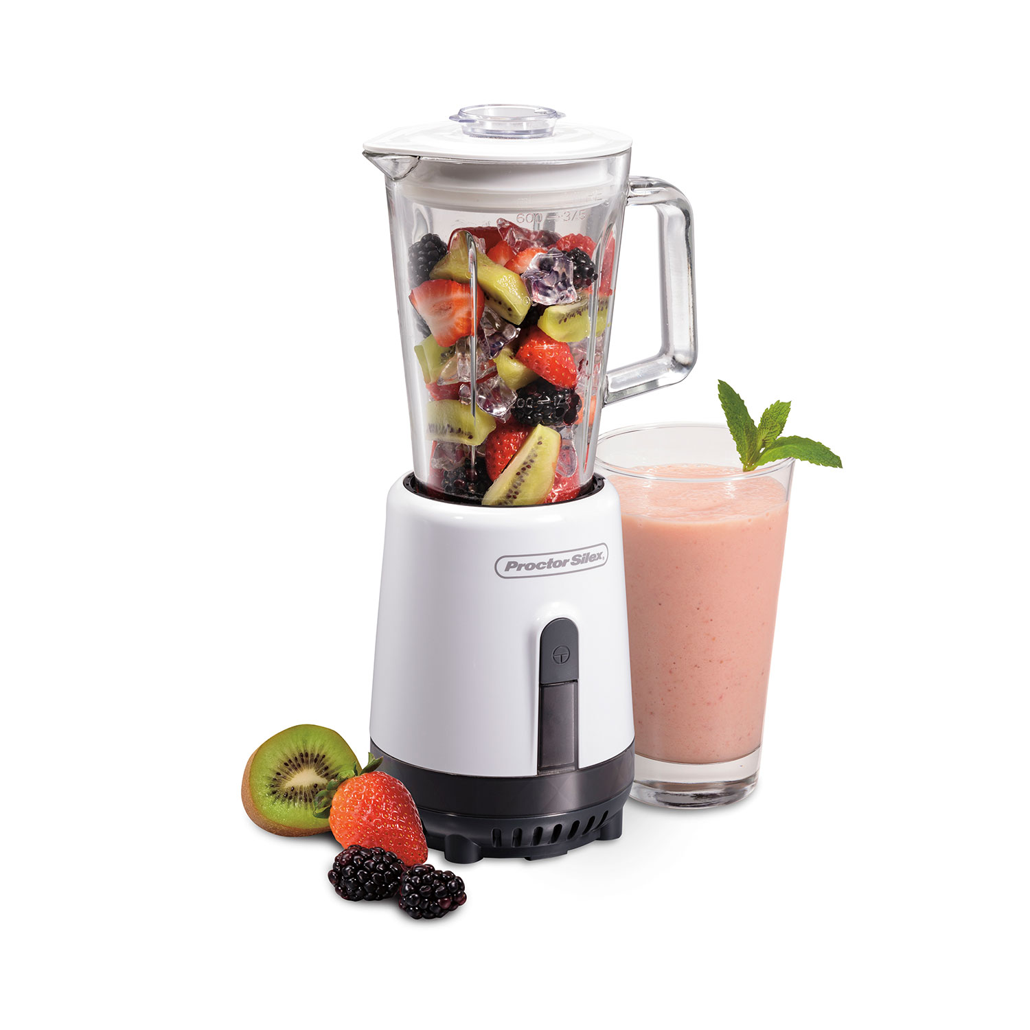 Glass Compact Blender (white)-51151
