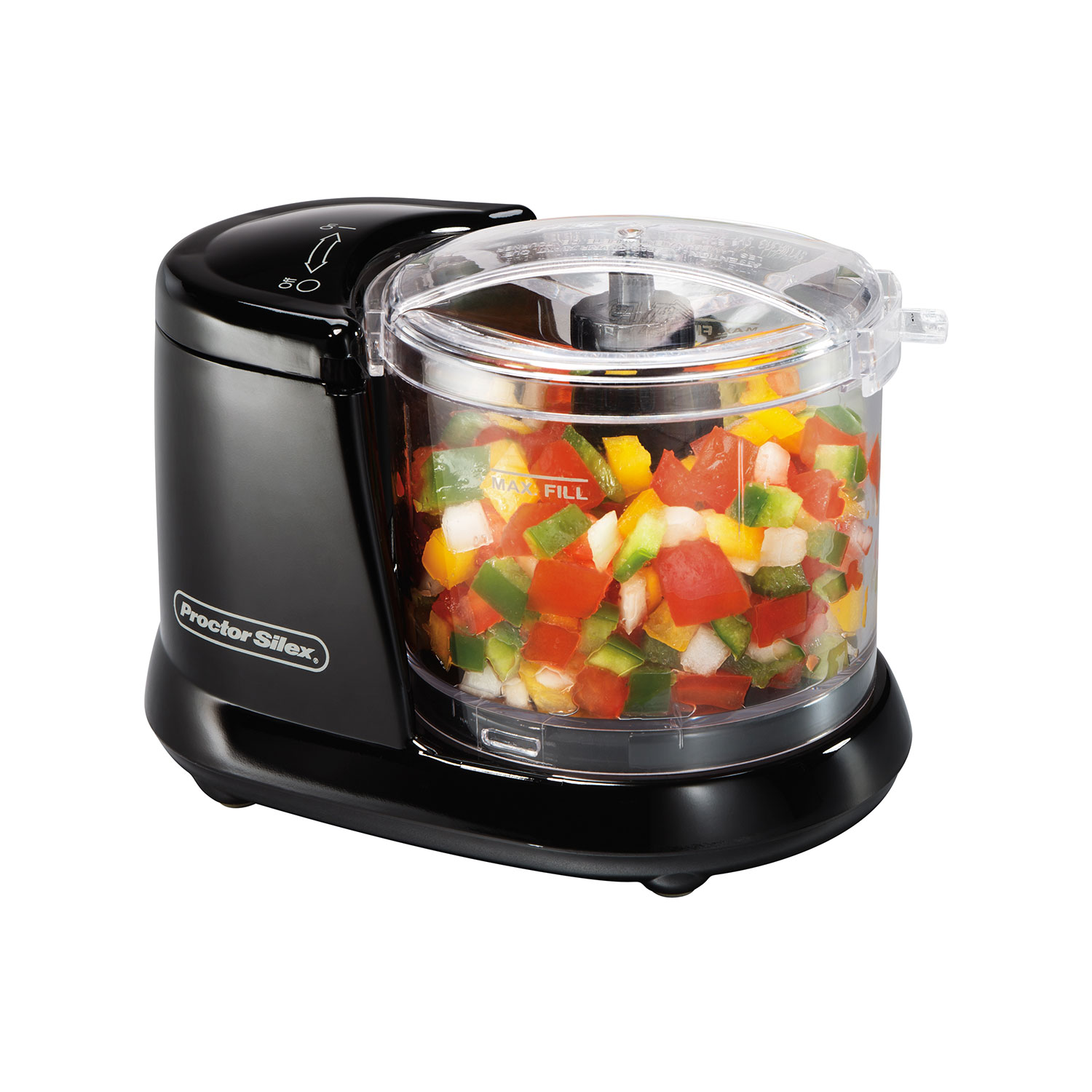 Food Chopper (black)-72507