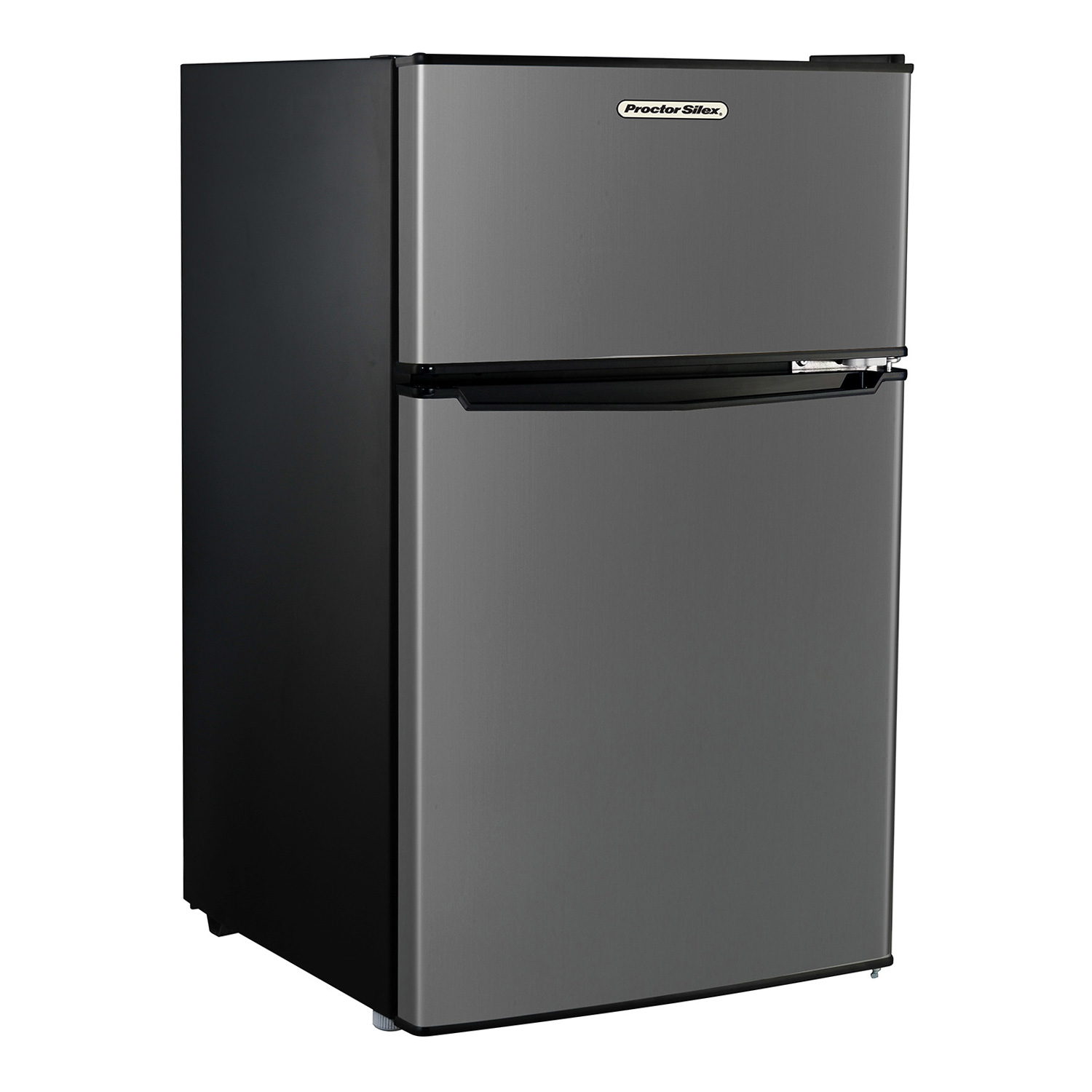 Compact Refrigerator With Reversible Double Door Top Mounted Freezer, 31
