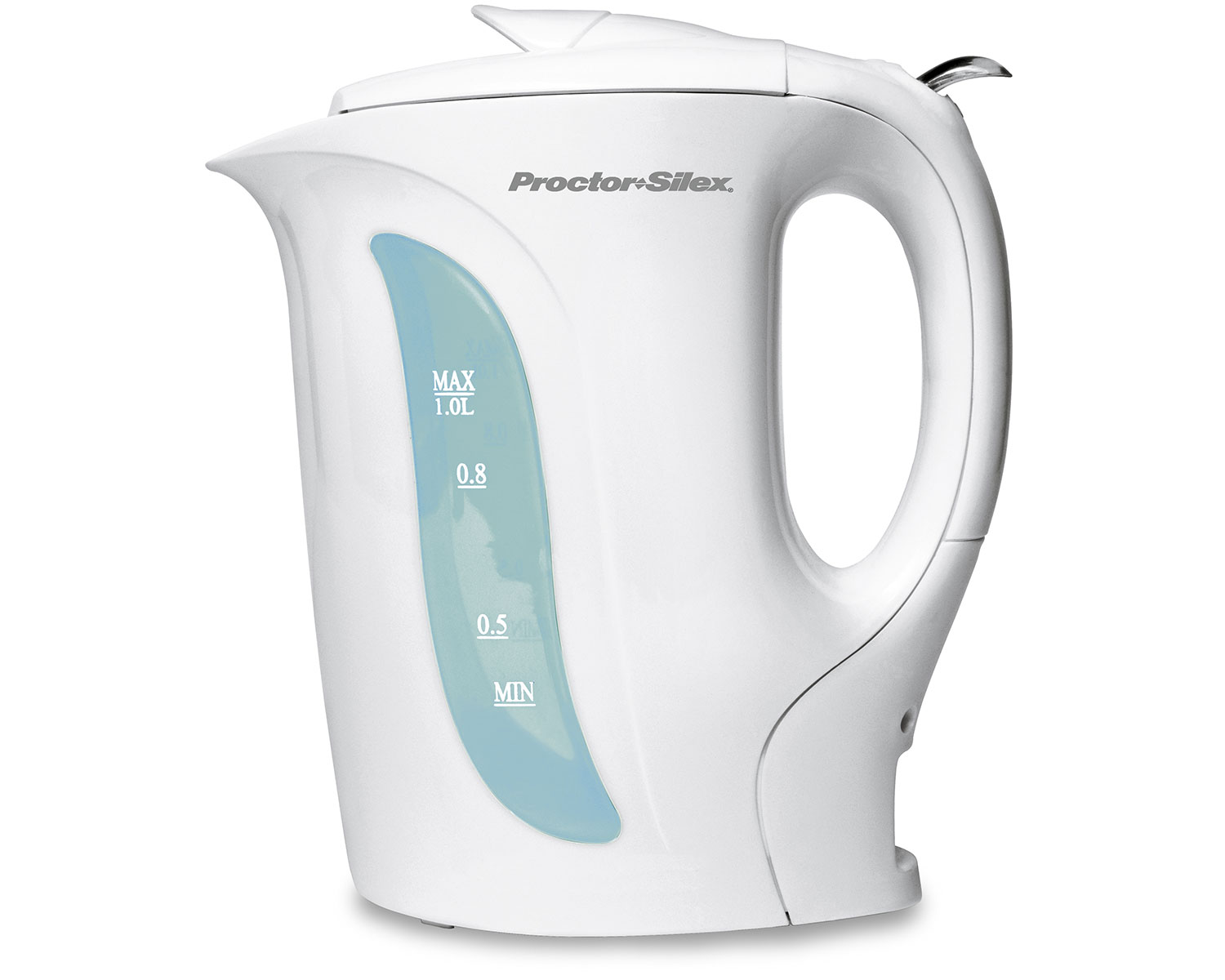 1 Liter Electric Kettle White Model K2070y Proctorsilex Com