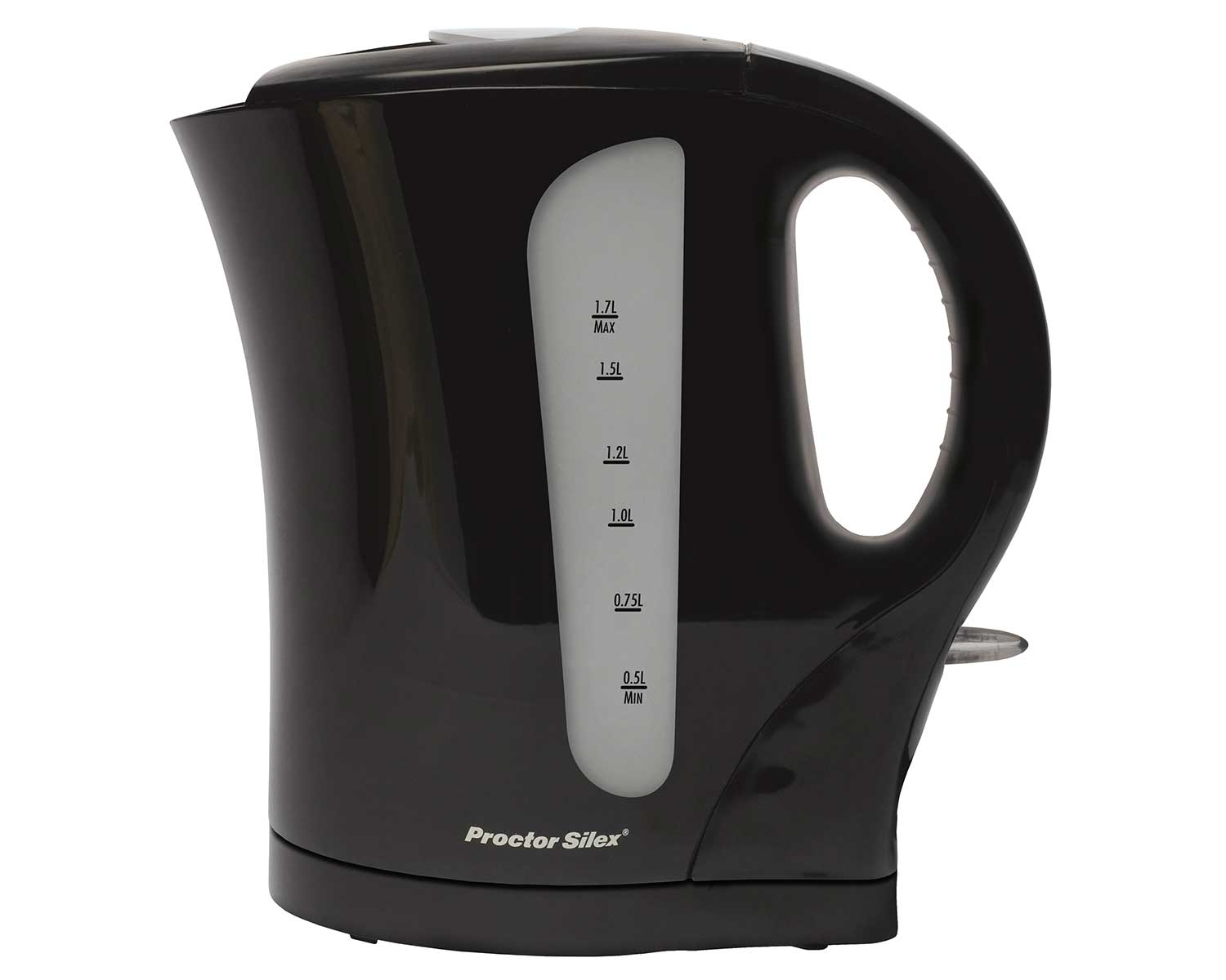 1.7 Litre Cordless Electric Kettle (black)- K4097 Small Size