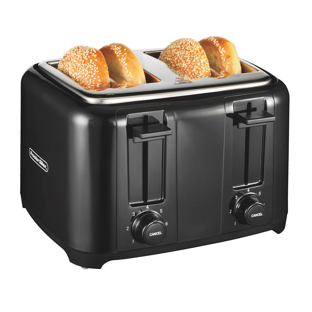 Durable Toaster 4-Slice (black)-24215