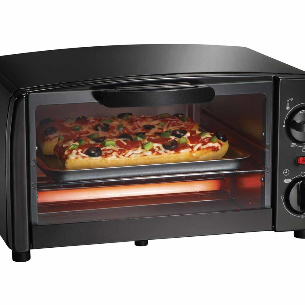 Toaster Oven Broiler (black)-31118R