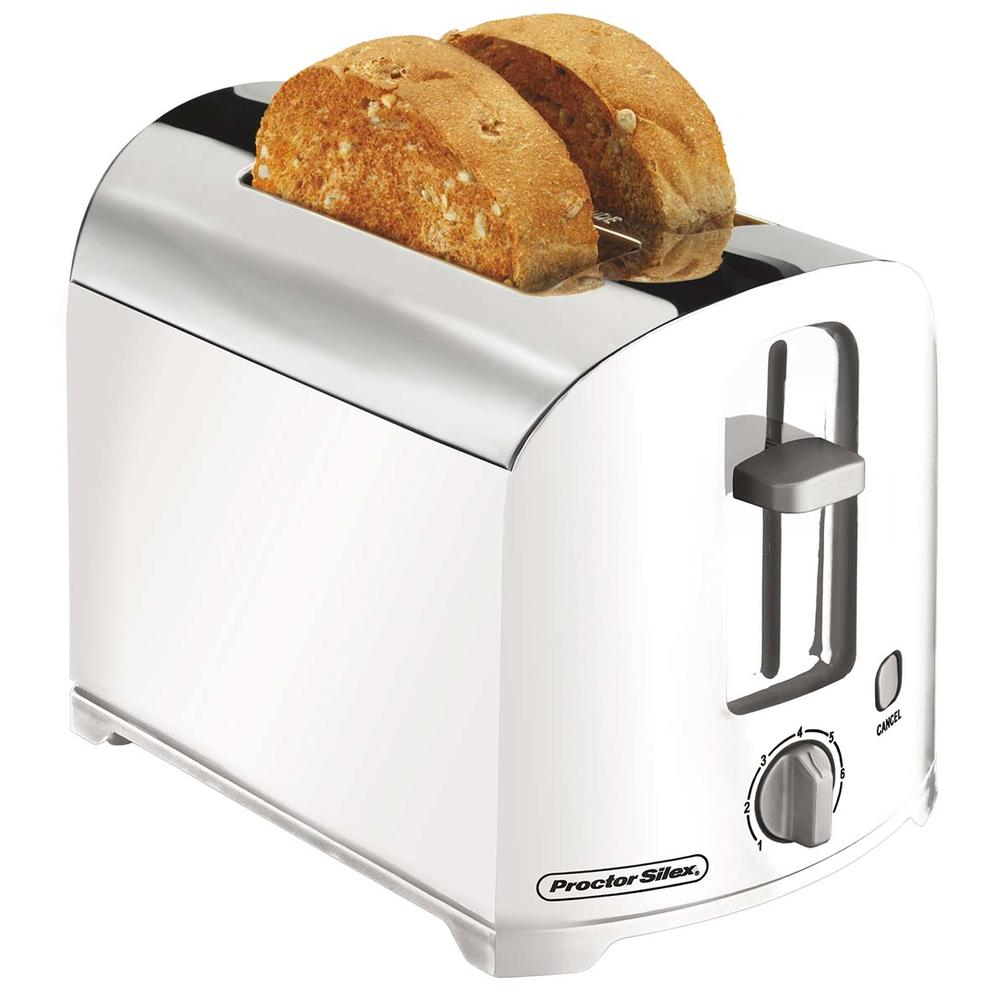 2 Slice Toaster (white)-22632