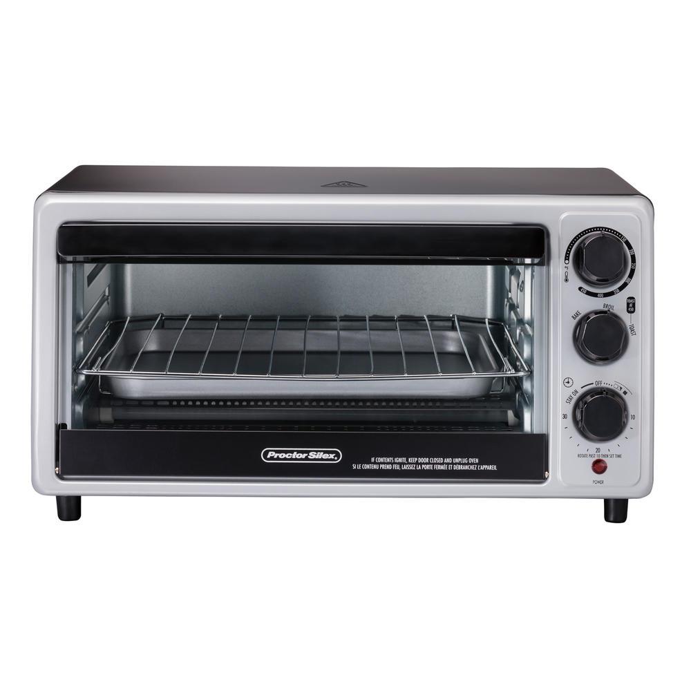 6 Slice Toaster Oven Model 31124 Proctorsilex Com