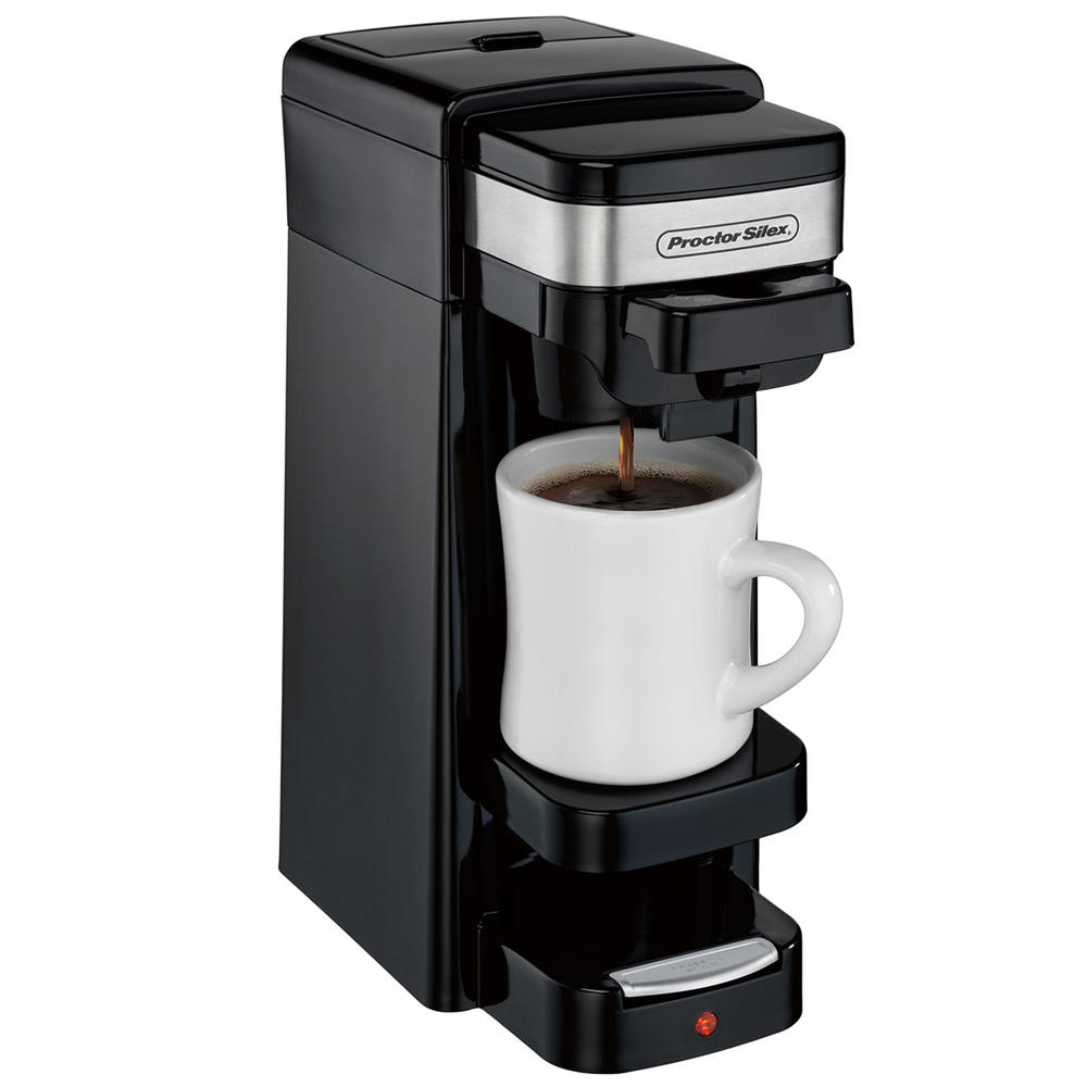 Single-Serve Coffee Maker (black)-49969