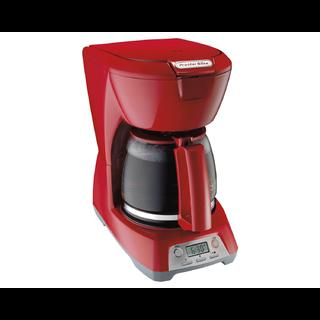 Programmable 12 Cup Coffee Maker (red) 43673